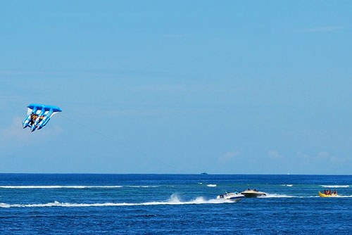Water sports at Nusa Dua, Bali