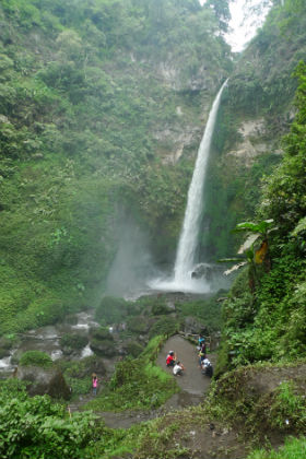One of the waterfalls near Malang, Indonesia