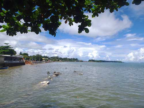 Werur Beach, Sorong, West Papua, Indonesia